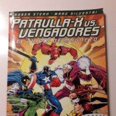 Cómics: PATRULLA X VS VENGADORES. EL JUICIO DE MAGNETO. Lote 184301090