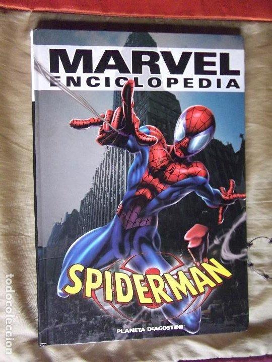 SPIDERMAN-MARVEL ENCICLOPEDIA-MARVEL-240 PAGINAS (Tebeos y Comics - Forum - Spiderman)