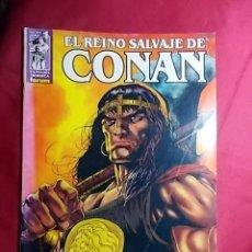 Cómics: EL REINO SALVAJE DE CONAN. Nº 1. FORUM. Lote 184407732