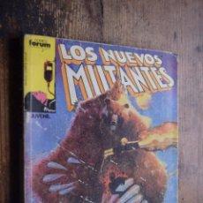 Comics: RETAPADO DE LOS NUEVOS MUTANTES, Nº 16, 17, 18, 19 Y 20. Lote 184427725