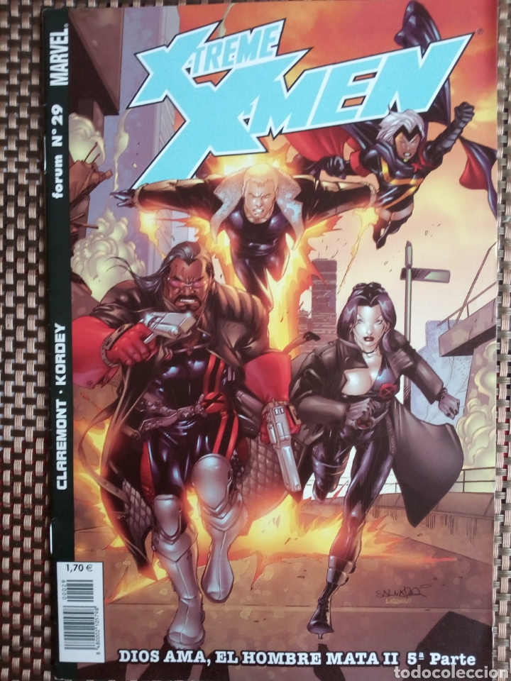 XTREME X-MEN - N 29 DIOS AMA EL HOMBRE MATA 2 PARTE 5 (Tebeos y Comics - Forum - X-Men)