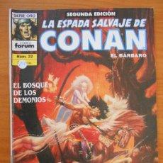 Fumetti: LA ESPADA SALVAJE DE CONAN EL BARBARO - Nº 32 - SEGUNDA EDICION - SERIO ORO - FORUM (GZ). Lote 184535470