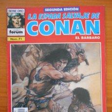 Fumetti: LA ESPADA SALVAJE DE CONAN EL BARBARO Nº 71 - SEGUNDA EDICION - FORUM (GZ). Lote 184607382