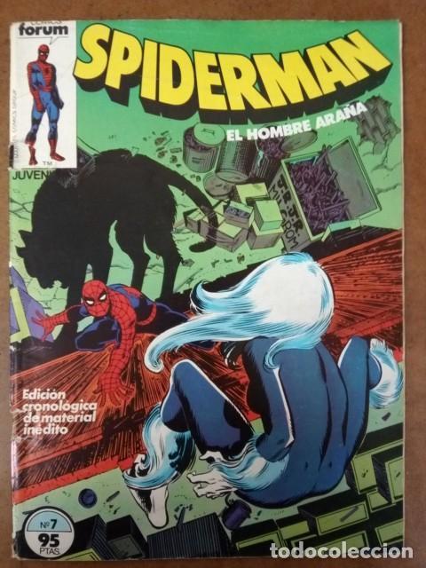 SPIDERMAN VOL. 1 Nº 7 PROCEDE DE RETAPADO - FORUM - OFM15 (Tebeos y Comics - Forum - Retapados)