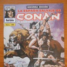 Fumetti: LA ESPADA SALVAJE DE CONAN EL BARBARO Nº 130 - SEGUNDA EDICION - FORUM (GZ). Lote 184614511