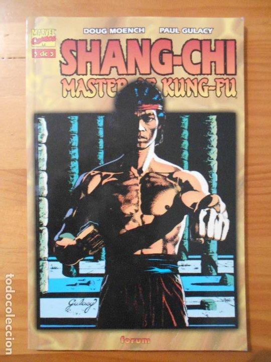 SHANG-CHI Nº 3 DE 3 - MASTER OF KUNG-FU - DOUG MOENCH, PAUL GULACY - MARVEL - FORUM (FH) (Tebeos y Comics - Forum - Prestiges y Tomos)