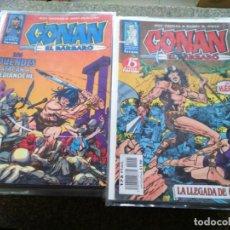 Cómics: CONAN EL BARBARO -- COMPLETA 98 NUMEROS -- FORUM -- 2ª EDICION -- . Lote 184702098