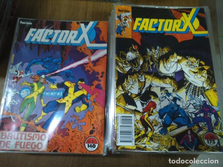 FACTOR X -- VOLUMEN 1 -- COMPLETA 94 NUMEROS -- (Tebeos y Comics - Forum - Factor X)