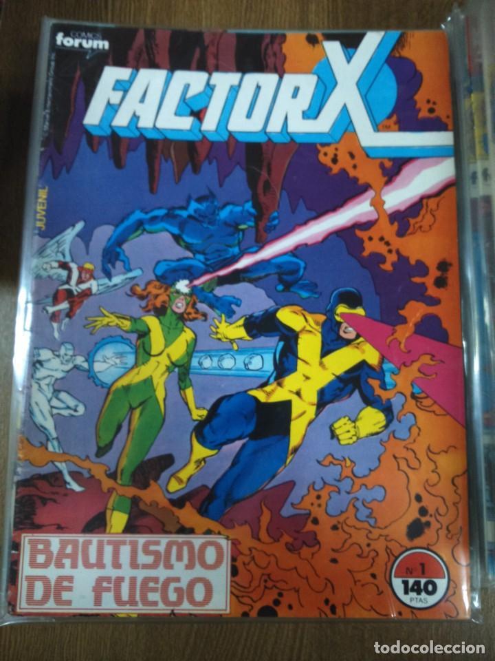 Cómics: FACTOR X -- VOLUMEN 1 -- COMPLETA 94 NUMEROS -- - Foto 2 - 184713887