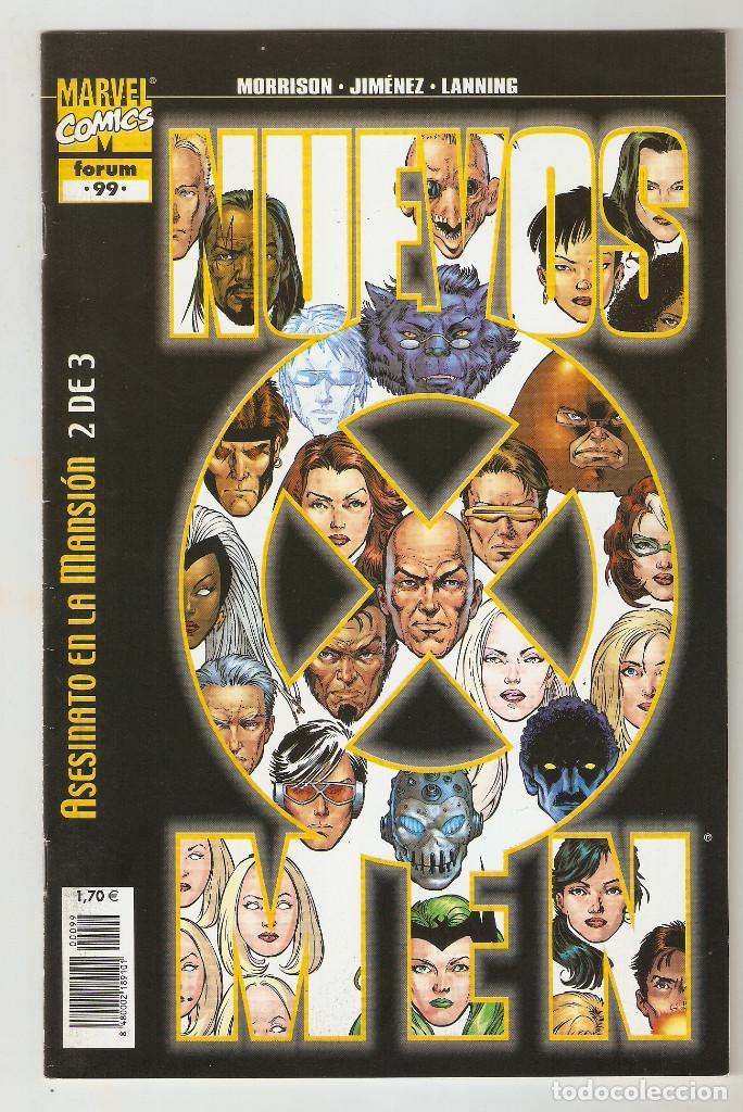 NUEVOS X-MEN VOL.1 - X-MEN - Nº 99 - VOL.2 - JUNIO 2004 - FORUM - (Tebeos y Comics - Forum - X-Men)