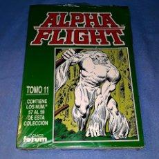 Cómics: ALPHA FLIGHT TOMO 11 (57 AL 59) FORUM MUY BUEN ESTADO A ESTRENAR CON PRECINTO. Lote 185151465