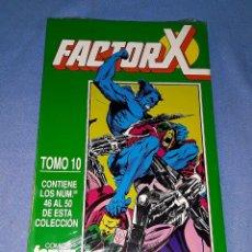 Cómics: FACTOR X TOMO 10 (46 AL 50) FORUM MUY BUEN ESTADO A ESTRENAR CON PRECINTO. Lote 185165697