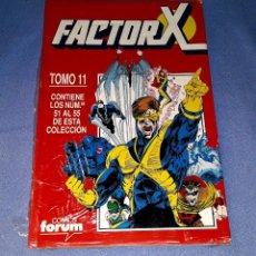 Cómics: FACTOR X TOMO 11 (51 AL 55) FORUM MUY BUEN ESTADO A ESTRENAR CON PRECINTO. Lote 185169925