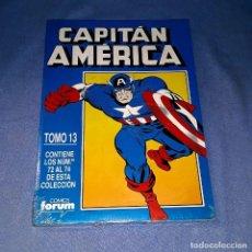 Cómics: CAPITAN AMERICA TOMO 13 (72 AL 74) FORUM MUY BUEN ESTADO A ESTRENAR CON PRECINTO. Lote 185174967
