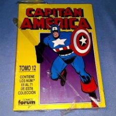 Cómics: CAPITAN AMERICA TOMO 12 (69 AL 71) FORUM MUY BUEN ESTADO A ESTRENAR CON PRECINTO. Lote 185179440