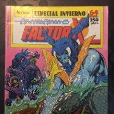 Comics: FACTOR X ESPECIAL INVIERNO 1989 . ATLANTIS ATACA .. Lote 185354010