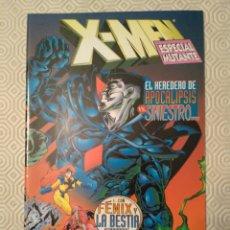 Cómics: X-MEN - EL HEREDERO DE APOCALIPSIS VS. SINIESTRO - ESPECIALES X-MEN. Lote 185672041