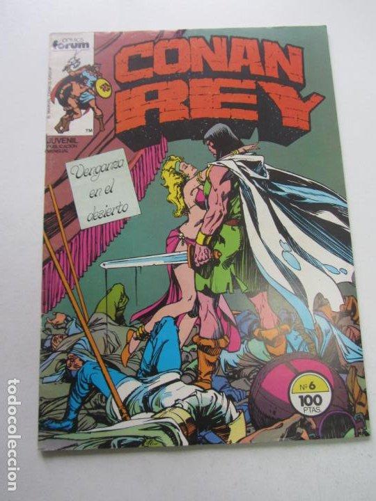 CONAN REY. Nº 6. FORUM MUCHOS MAS A LA VENTA MIRA TUS FALTAS CX32 (Tebeos y Comics - Forum - Conan)