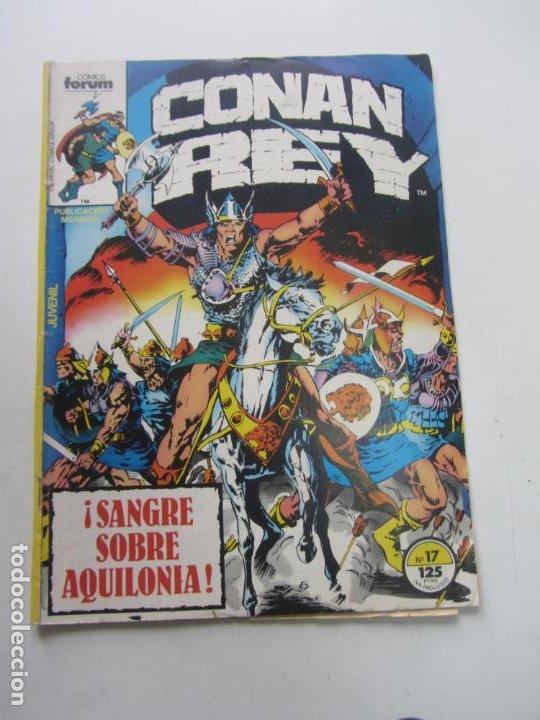 CONAN REY. Nº 17 FORUM MUCHOS MAS A LA VENTA MIRA TUS FALTAS CX32 (Tebeos y Comics - Forum - Conan)