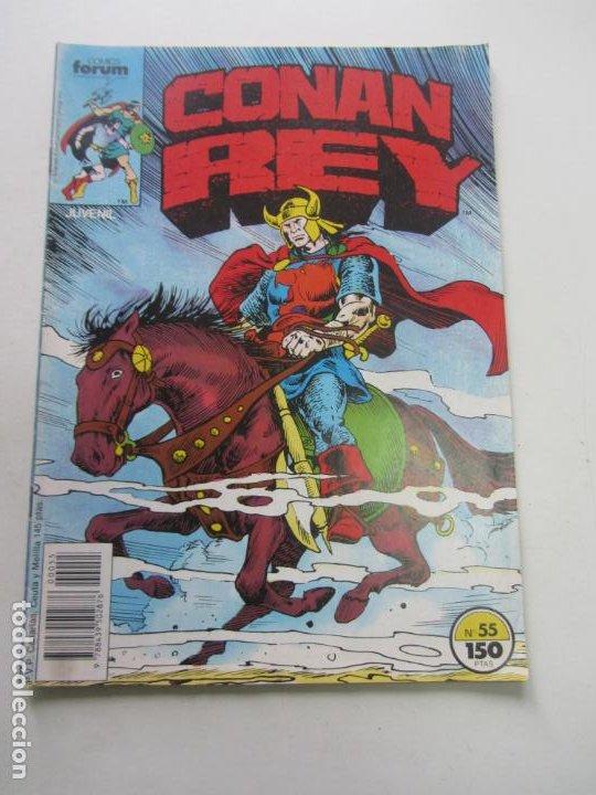 CONAN REY. Nº 55 FORUM MUCHOS MAS A LA VENTA MIRA TUS FALTAS CX32 (Tebeos y Comics - Forum - Conan)