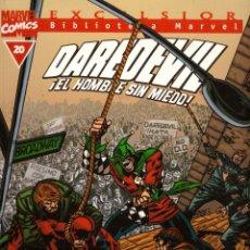 Comics : COMIC EXCELSIOR, BIBLIOTECA MARVEL: DAREDEVIL EL HOMBRE SIN MIEDO, Nº 20 - FORUM. Lote 185718982