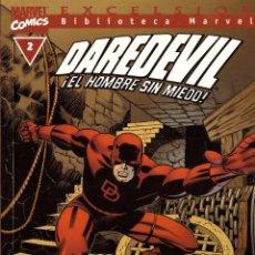Cómics: COMIC EXCELSIOR, BIBLIOTECA MARVEL: DAREDEVIL EL HOMBRE SIN MIEDO, Nº 2 - FORUM. Lote 185719058