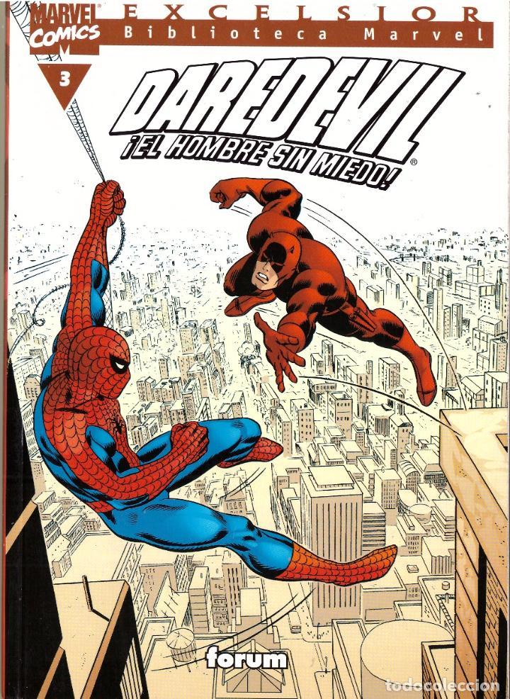 COMIC EXCELSIOR, BIBLIOTECA MARVEL: DAREDEVIL EL HOMBRE SIN MIEDO, Nº 3 - FORUM (Tebeos y Comics - Forum - Daredevil)