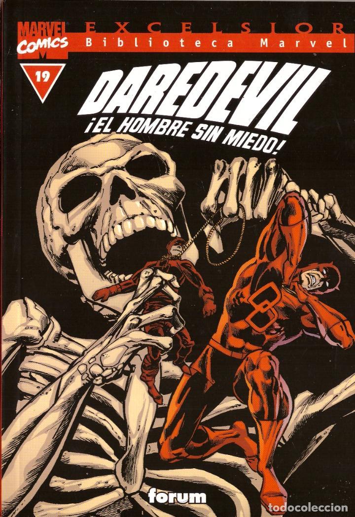 COMIC EXCELSIOR, BIBLIOTECA MARVEL: DAREDEVIL EL HOMBRE SIN MIEDO, Nº 19 - FORUM (Tebeos y Comics - Forum - Daredevil)