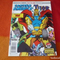 Comics: CAPITAN AMERICA THOR VOL. 1 64 ( SIMONSON GRUENWALD ) ¡BUEN ESTADO! FORUM MARVEL TWO IN ONE. Lote 185891092
