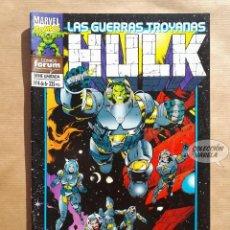 Cómics: HULK - LAS GUERRAS TROYANAS - 4 - FORUM - JMV. Lote 185904811
