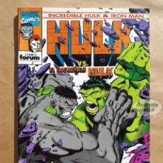 Cómics: HULK & IRON MAN 8 - FORUM - JMV. Lote 185905160