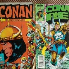 Cómics: CONAN REY N 49 - CONAN EL BARBARO N 115. Lote 185951476