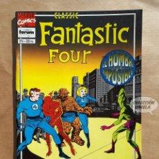 Cómics: FANTASTIC FOUR CLASSIC Nº 6 - FORUM - JMV. Lote 185984991