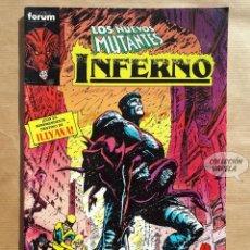 Cómics: INFERNO Nº 12 - LOS NUEVOS MUTANTES - FORUM - JMV. Lote 185988808