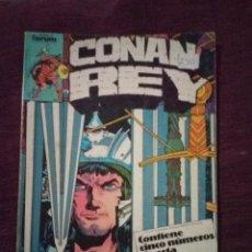 Cómics: CONAN REY TOMO FORUM. Lote 186033961