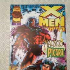 Cómics: X-MEN UNLIMITED #1 - MAGNETO Y PÍCARA (TERRY KAVANAGH, STEVE EPTING). Lote 186049961
