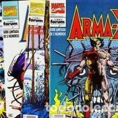 Comics : ARMA-X. Lote 186101372