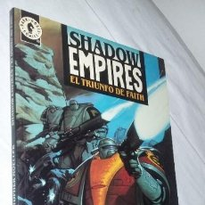 Cómics: SHADOW EMPIRES - EL TRIUNFO DE FAITH (POR CHRISTOPHER MOELLER ) DARK HORSE 1995. Lote 186107647