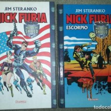 Cómics: NICK FURIA DE JIM STERANKO (2 TOMOS COMPLETA). Lote 186147062