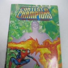Cómics: CONTEST OF CHAMPIONS: COMBATE FINAL CLAREMONT & JIMÉNEZ & ALPUENTE FORUM CX33. Lote 186200208