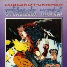 Cómics: LOBEZNO PUNISHER EVIDENCIA MORTAL + REVELACION. Lote 186210840