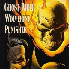 Cómics: PUNISHER WOLWERINE GHOST RIDER OSCURO DESTINO + PUNISHER VIUDA NEGRA. Lote 186211917