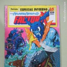 Cómics: FACTOR X EXTRA INVIERNO 1989 FORUM. Lote 186221727