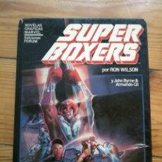 Cómics: NOVELAS GRAFICAS MARVEL Nº 5: SUPER BOXERS - JOHN BYRNE & RON WILSON. Lote 186228288
