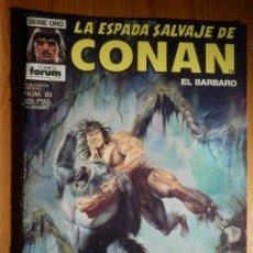 Cómics: COMIC LA ESPADA SALVAJE DE CONAN EL BÁRBARO - FORUM - Nº 93 - LA IRA DE CROM. Lote 186279136