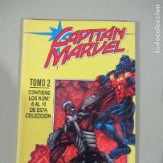 Cómics: CAPITÁN MARVEL RETAPADO Nº 2 CON LOS Nº 6 AL 10 FORUM MUY BUEN ESTADO. Lote 186302582