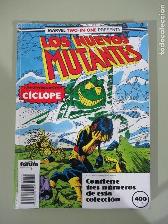 LOS NUEVOS MUTANTES Nº 51 AL 53 RETAPADO FORUM (Tebeos y Comics - Forum - Retapados)