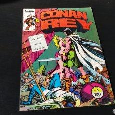 Cómics: MUY BUEN ESTADO CONAN REY 6 FORUM. Lote 186305696