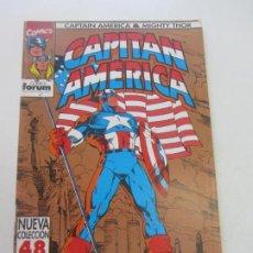 Cómics: CAPITAN AMERICA THOR VOL 2 Nº 1 FORUM MUCHOS MAS A LA VENTA PIDE FALTAS CX34. Lote 186338640