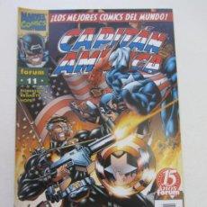 Cómics: CAPITAN AMERICA VOL 3 Nº 11 HEROES REBORN FORUM MUCHOS MAS A LA VENTA PIDE FALTAS CX34. Lote 186340001